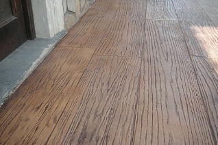 Pavimento Calcestruzzo Stampato : Cemento liscio e calcestruzzo stampato chem project